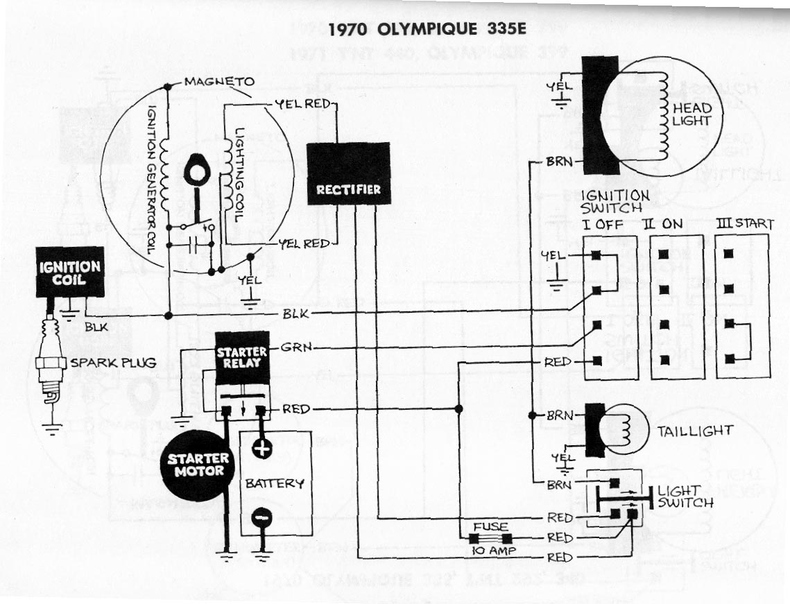 2002 Ski Doo Legend Wiring Diagram
